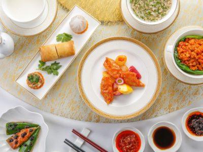 香港朗廷酒店唐阁餐厅的「康皇素食」