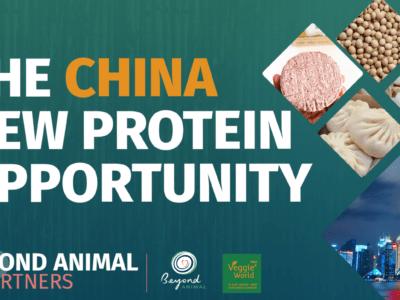 Beyond Animal与上海Veggie World合办中国替代蛋白网上高峰会