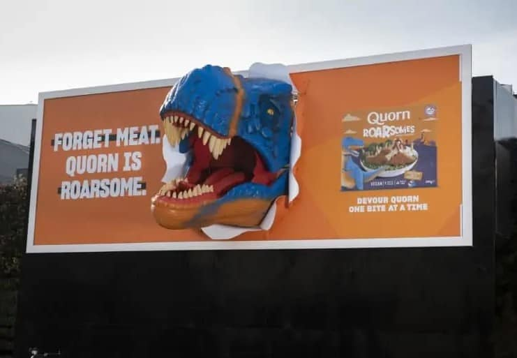 Quorn dinosaur