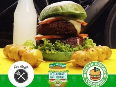 Vegan Burger Colombia