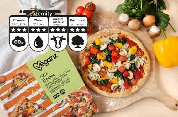 pizza-verdura Veganz