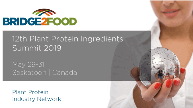 12th Plant Protein Ingredients Summit 2019 Saskatoon Canada