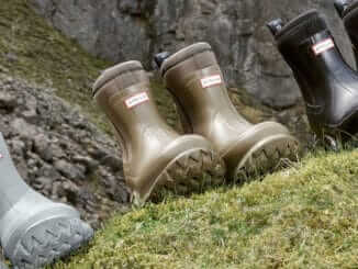 Stella McCartney and Hunter Wellies