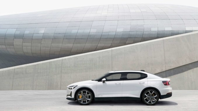 polestar volvo electric hybrid automobile