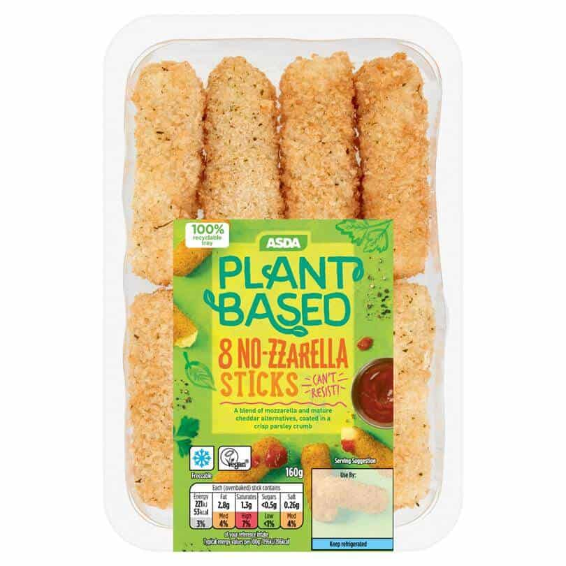 Asda plantbased mozzerella