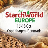 4th Starchworld Europe, 16-18 October 2019 in Copenhagen, Denmark
