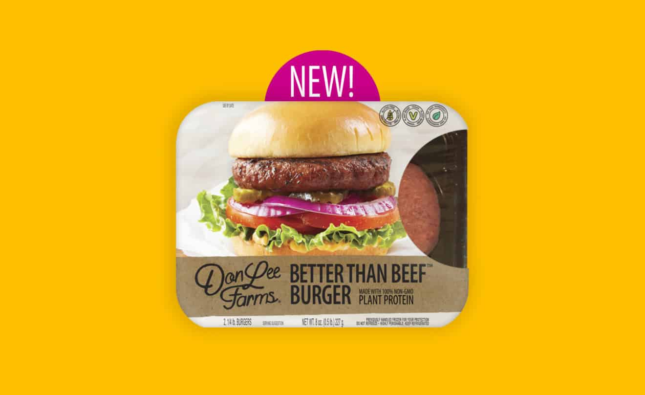"""Don Lee Farms Announces the Launch of Plant-Based """"Better Than Beef"""" Burger"""