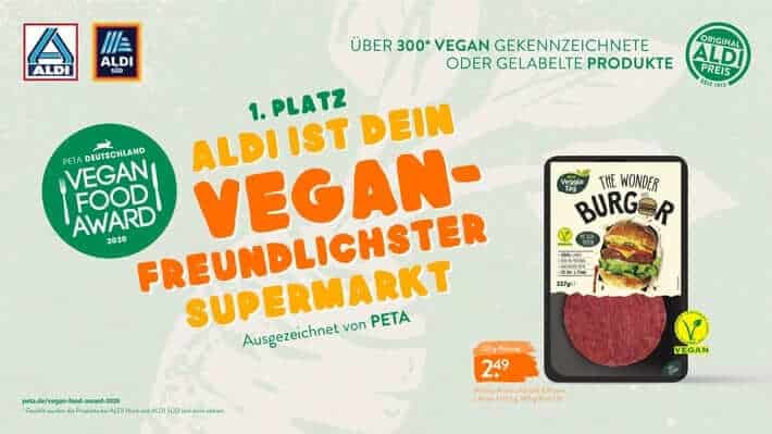 PETA Vegan Food Award 2020