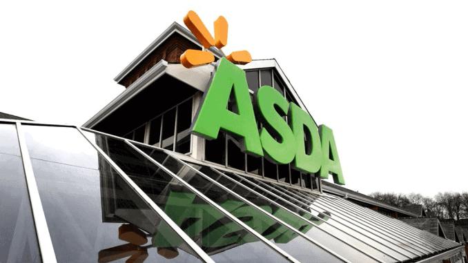 ASDA Supermarkt Außenansicht