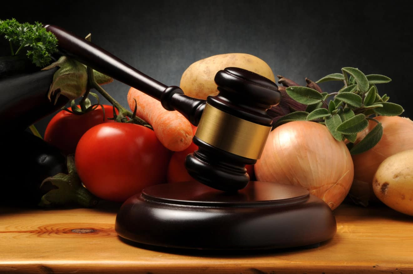 vegetables vegan law