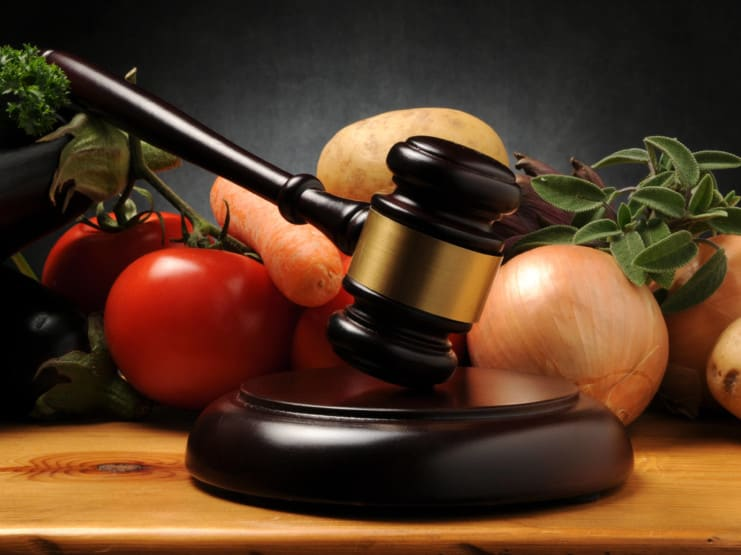 vegetables vegan law