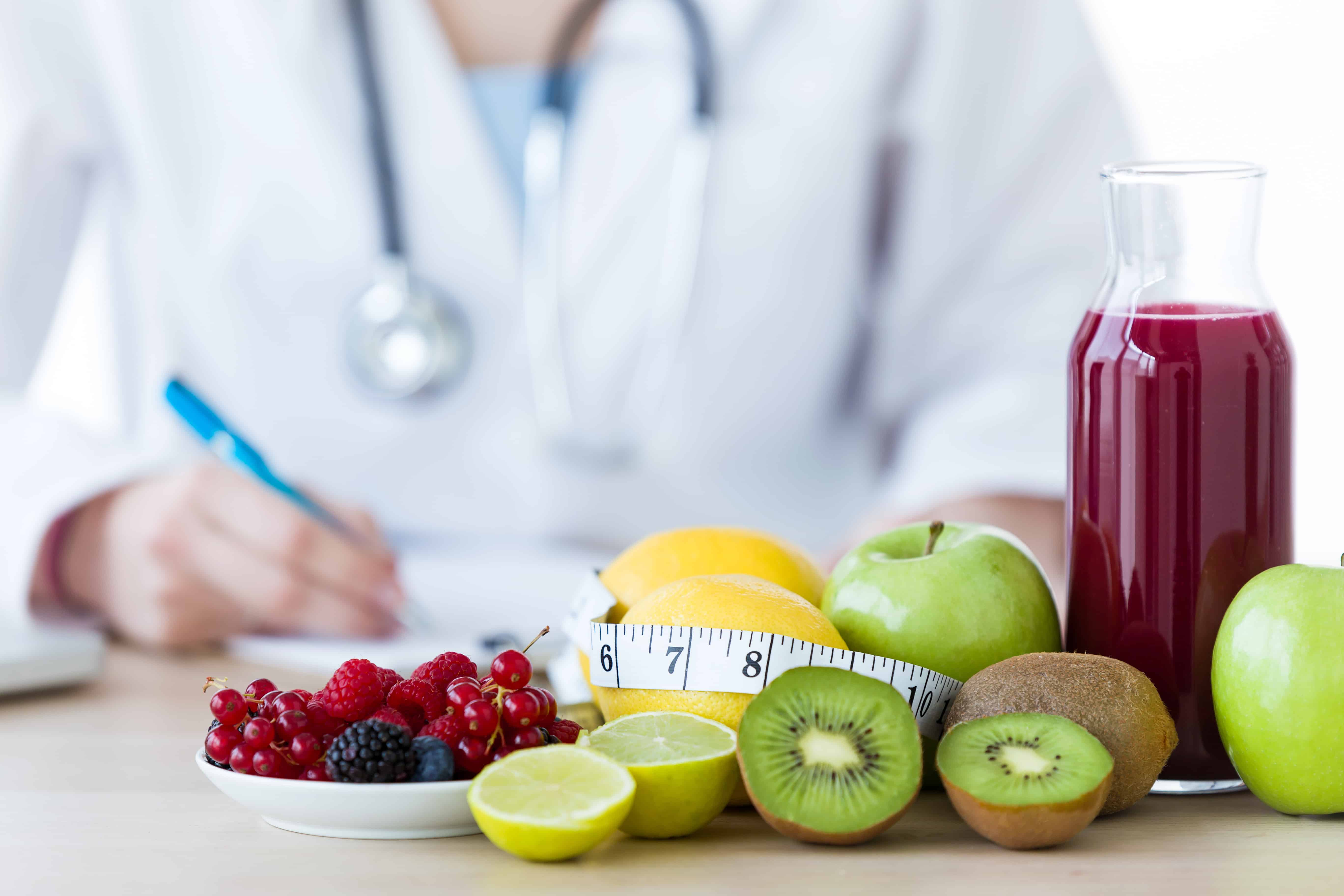 doctor physician fruit healthy diet