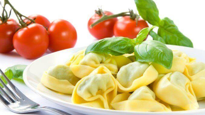 Tortellini-Gericht