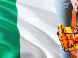 Ireland Irish flag veg