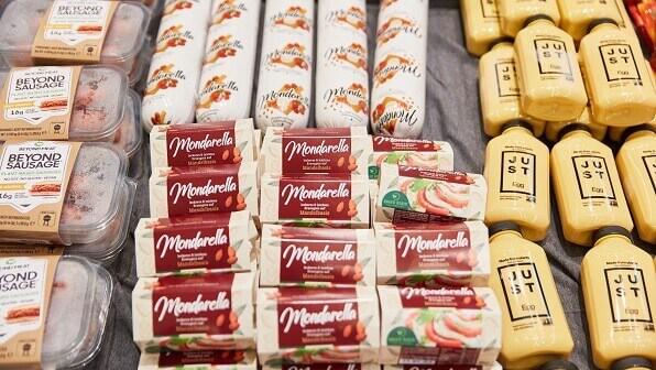 vegan options German supermarket