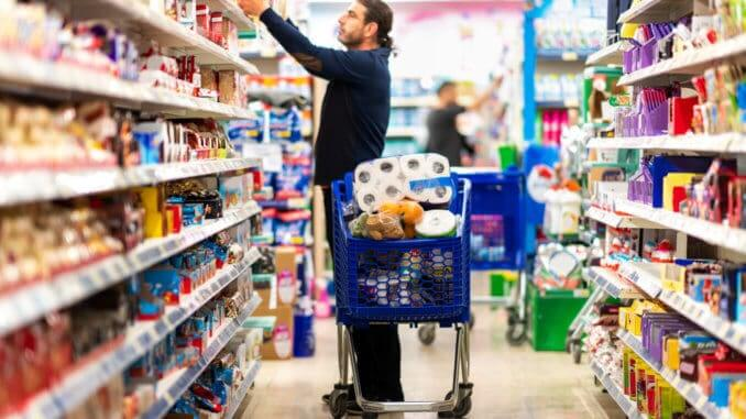 Supermarket stockpiling