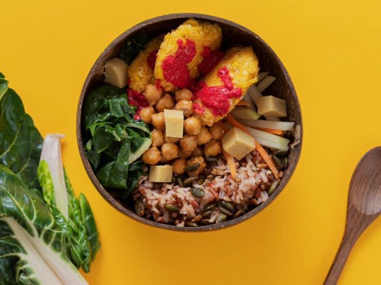 ready meal vegan convenience
