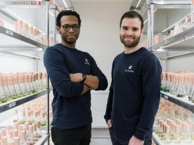 Alvyn Severien & Gaëtan Gohin, les deux cofondateurs d'Algama, Algama Foods