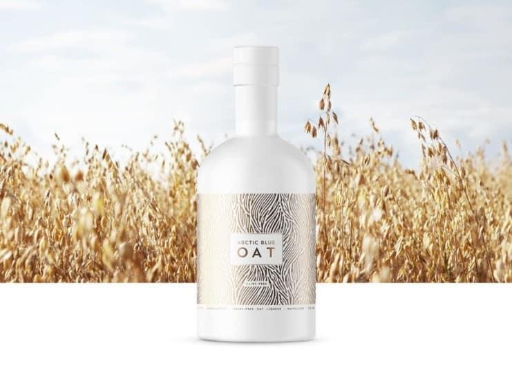 Arctic Blue oat gin liqueur