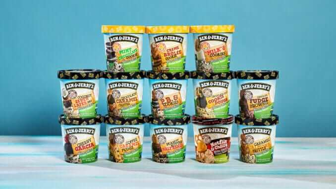 Ben & Jerry's sunflower Butter-Based Lineup