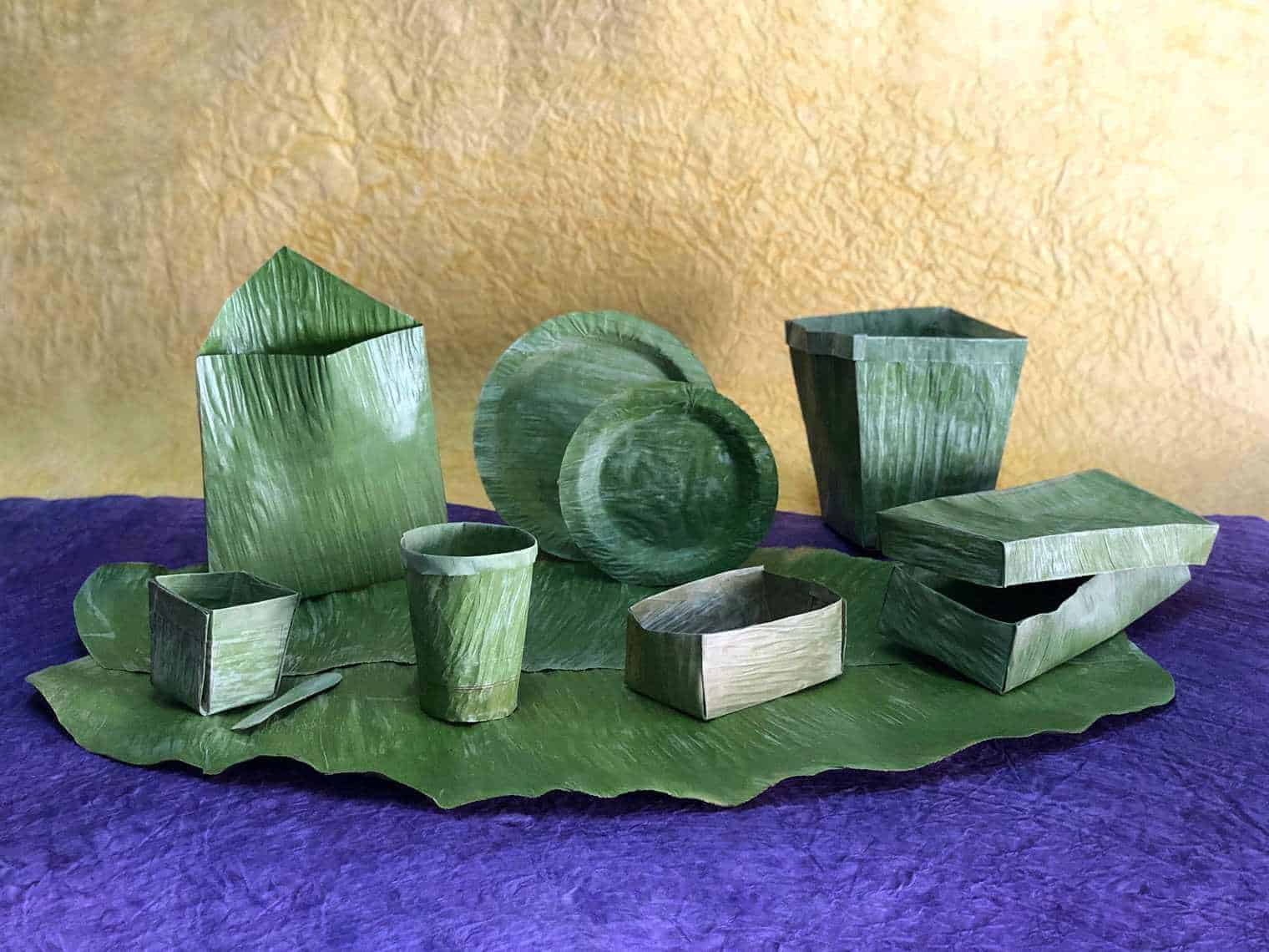 Banana Leaf Products