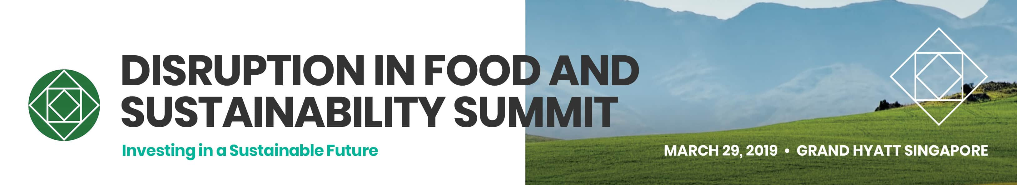 Disruption in Food and Sustainability Summit (DFSS)