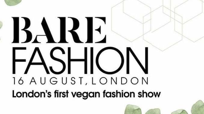 Bare Fashion Vegan Fashion Show London