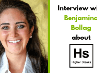 Benjamina Bollag – CEO & Founder of Higher Steaks