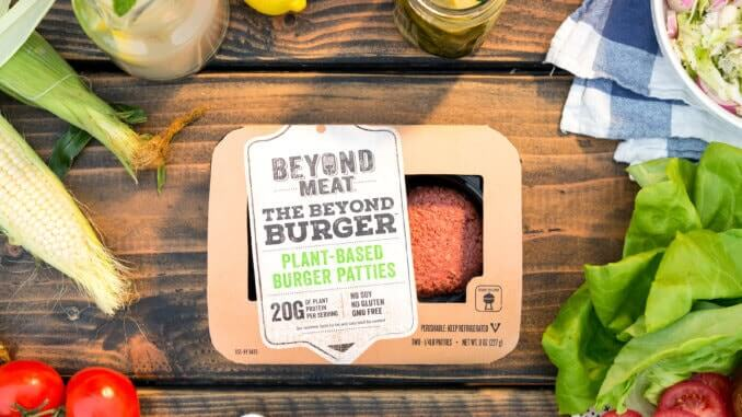 Verpackung vom Beyond Burger