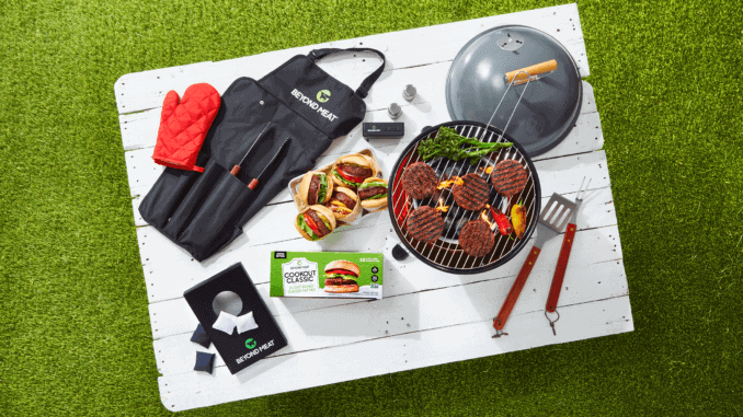 Beyond Meat has launched a limited edition BBQ cookout kit for the summer.