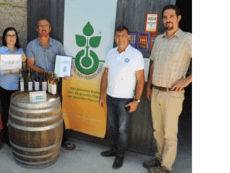 Biocyclic Vegan audit at the French vineyard Château La Rayre near Bergerac