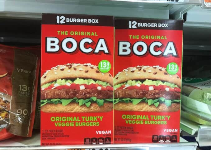 BOCA Confirms Two Thirds of Product Line Now Vegan