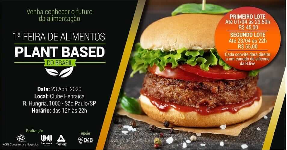 Brazil's First Plant-Based Food Event to Take Place in April as South American Market Continues to Emerge