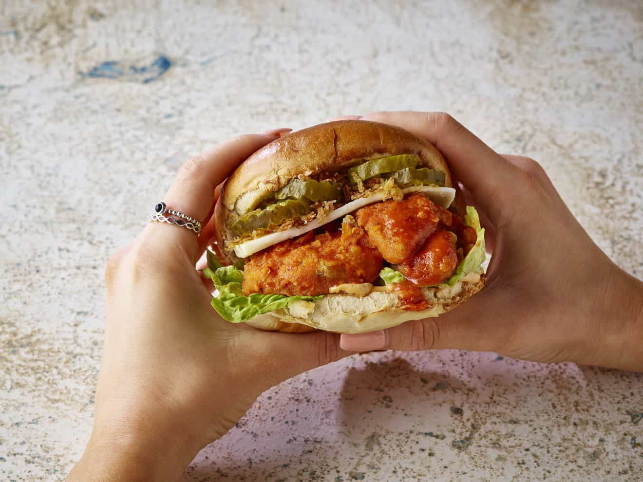 Buffalo Burger The Vurger