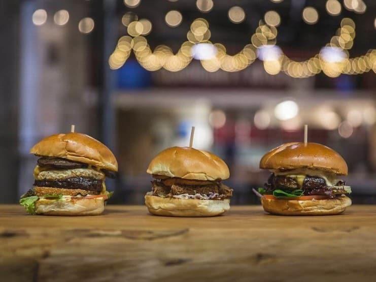 Butcher Shop Burger Lineup TVGB