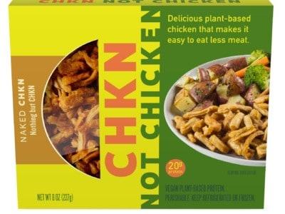 CHKN Not Chicken packaging