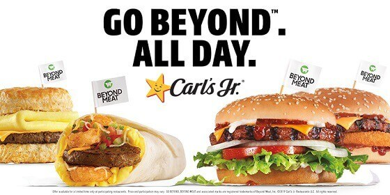 Carl's Jr. Beyond Meat Menu (2)