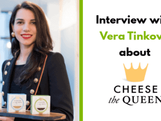 Vera Tinkova – founder Cheese The Queen