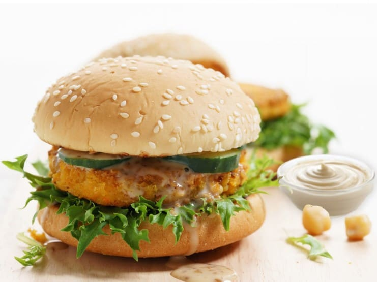ChickP meat application