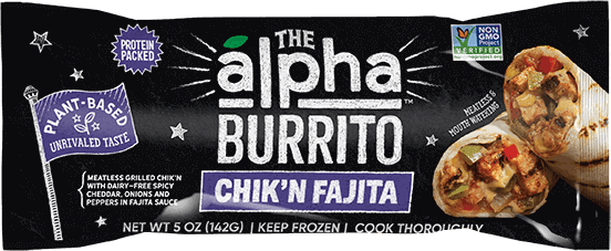 Chikn Burrito Alpha Foods