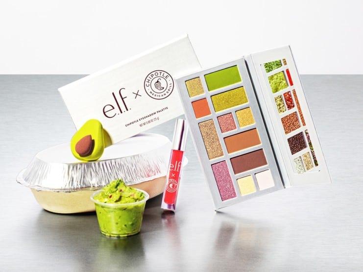 Chipotle e.l.f makeup collaboration