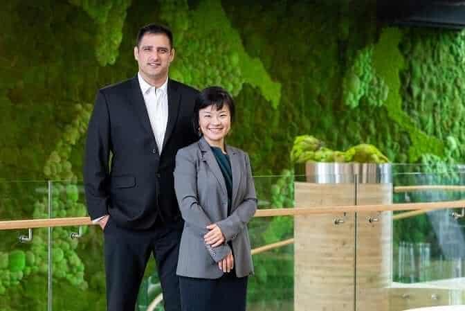 Co-founders Fengru Lin & Max Rye, TurtleTree Labs