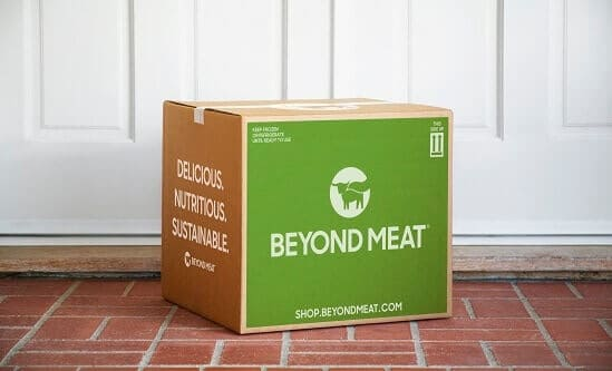 Beyond Meat DTC launch box