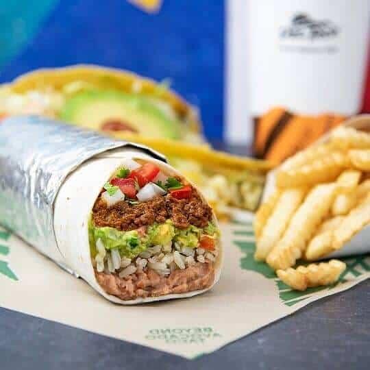 Del Taco Epic Beyond Original Mex Burrito