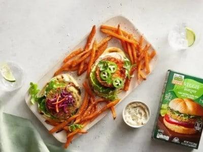 Earth Grown Burger Aldi