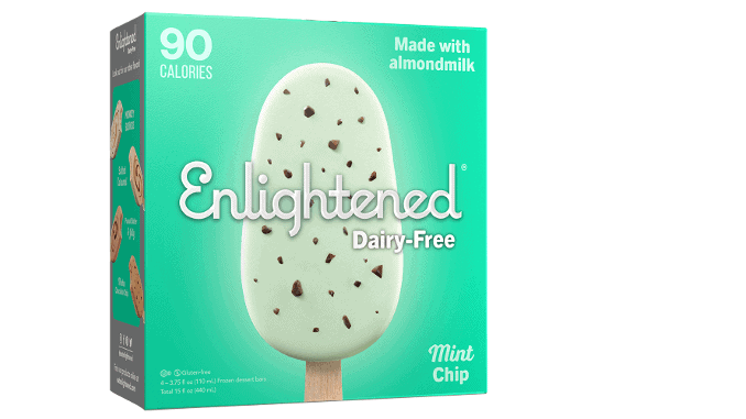 Enlightened Ice cream dairy-free