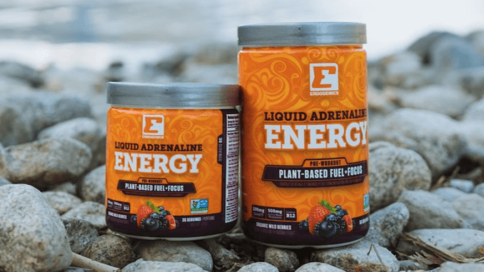 vegane Produkte von Ergogenics Nutrition