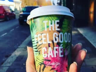 Feel Good Cafe coffee cup
