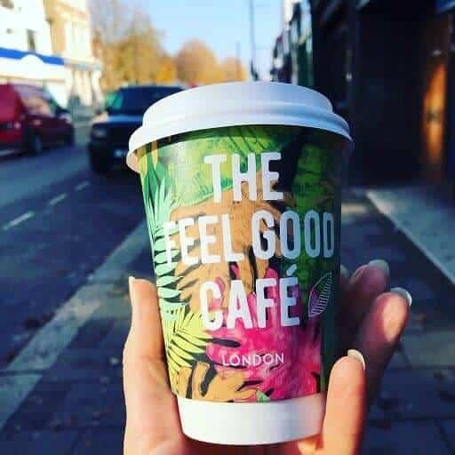 Feel Good Cafe coffee cup