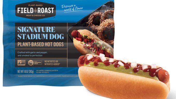 Field Roast pea protein hot dog